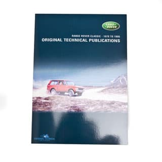 ORIGINAL TECHNICAL PUBLICATIONS RANGE ROVER CLASSIC 1970 TO 1995 USB,Online eBook