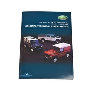 ORIGINAL TECHNICAL PUBLICATIONS LAND ROVER 90, 110, 127 & DEFENDER 90, 110 & 130  USB,Online eBook