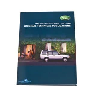 ORIGINAL TECHNICAL PUBLICATIONS DISCOVERY I 1989 TO 1999 USB,Online eBook