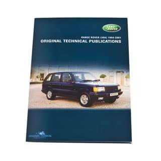 Original Technical Publications Range Rover P38a 1994-2001 Usb,Online Ebook