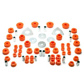 POLY BUSHING SET ORANGE PRE-1994 DEFENDER 90/110