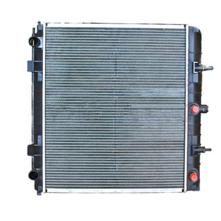 Radiator Assembly P38a Range Rover w/2.5L Diesel & Manual Transmission