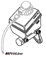 Master Cyl - Brakes Girlng R/Rover Classic Non-Abs