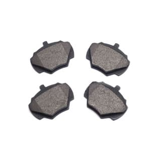 Brake Pads, Rear Axle Set w/O Sensor, Discovery I & Defender 90
