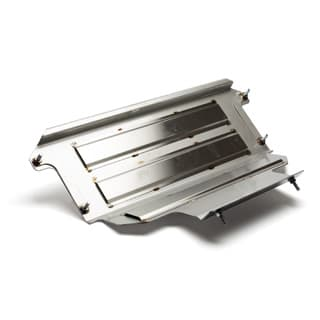 TRAY FOR REAR FUEL TANK 90 STAINLESS STEEL 2007 ON