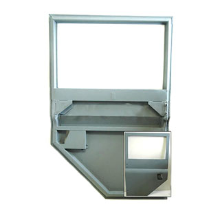 Middle Door Shell Assembly 109 LH