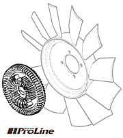 VISCOUS DRIVE - ENGINE FAN R/R CLC 1987-94