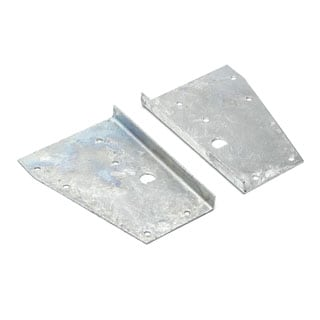 Bracket Set Galvanized Tailgate Mount Series