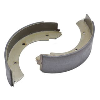 BRAKE SHOES - TRANS BRAKE R/R, DEFENDER & DISCOVERY I