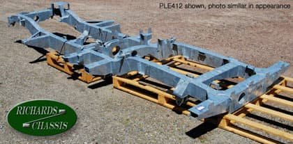 Chassis, Series IIA-III 4 Cylinder 109 Station Wagon Galvanized - Richards Chassis