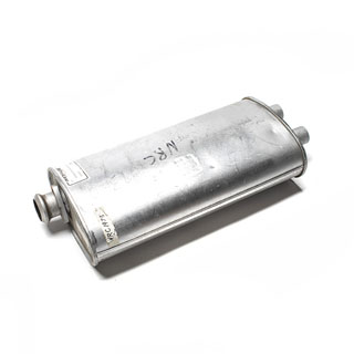 Muffler For Twin Tailpip R/R Clc