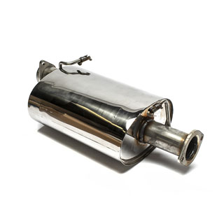 Muffler Stainless Steel Defender 90 NAS V8
