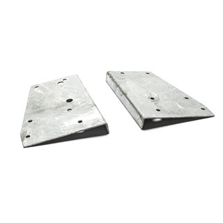 Bracket Set Galvanized Rear Bed Corner Series