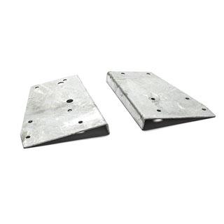 Bracket Set Galvanized Rear Bed Corner Series