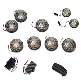 LED CLEAR LAMP KIT DEFENDER WITHOUT REAR FOG GUARD