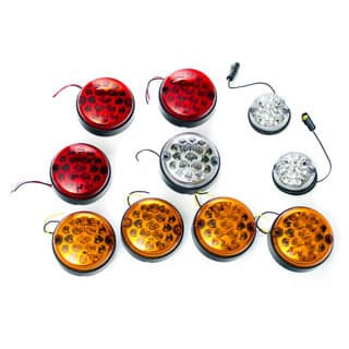 LED VEHICLE LAMP KIT DEFENDER WITH REAR FOG GUARD