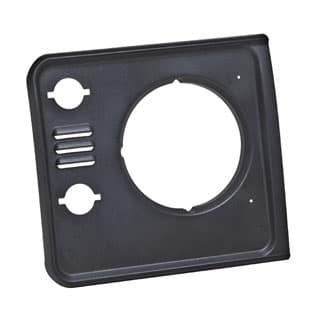 Bezel Finisher RH Headlamp Defender w/Vents Graphite Black