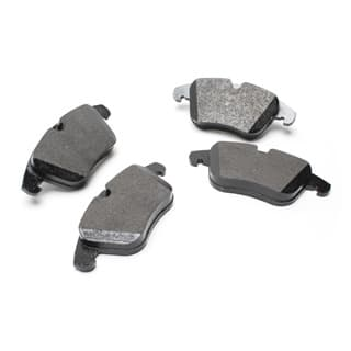 BRAKE PAD SET FRONT AXLE LR2 MPI PETROL
