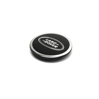 Center Wheel Cap Bright Black With Land Rover Logo LR3, LR4