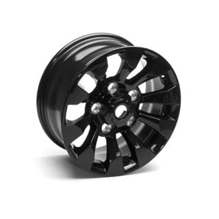 "Sawtooth Alloy Wheel 18"" x 8"" Black for Defender 