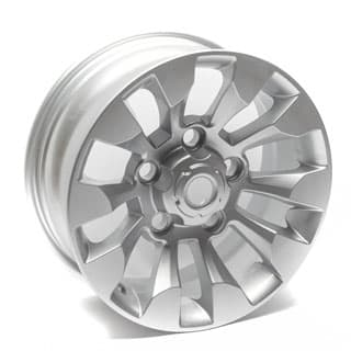 "SAWTOOTH SILVER ALLOY WHEEL 18"" x 8"""