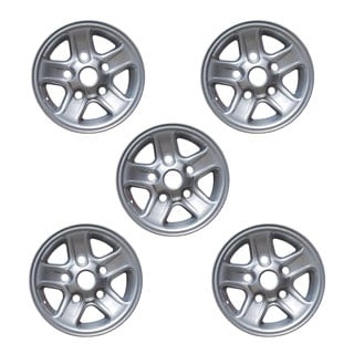 "Alloy Road Wheel 7 X 16"" Boost 5 Spoke - Silver Set Of 5"