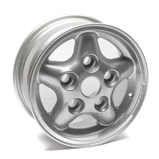 "NEW TORNADO ALLOY WHEEL 16"" X 7"" SILVER SPARKLE"