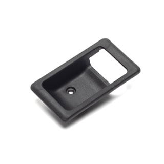 Escutcheon RH Interior Door Latch Black Range Rover Classic & Defender -Proline