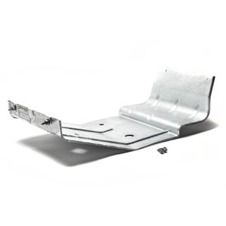 CRADLE FOR REAR PLASTIC FUEL TANK 110,130 GALVANIZED.