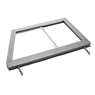Door Top Assembly With Glass  Series IIA 1959-1971 LH