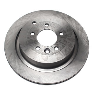 Land Rover LR4 Rear Brakes