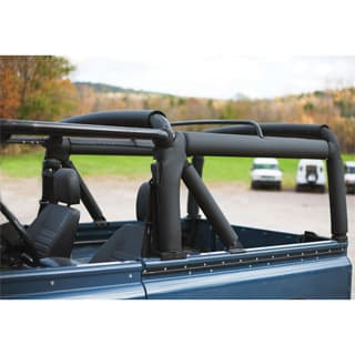 NAS 90 ROLL CAGE PADDING - PROTECTION KIT, BLACK