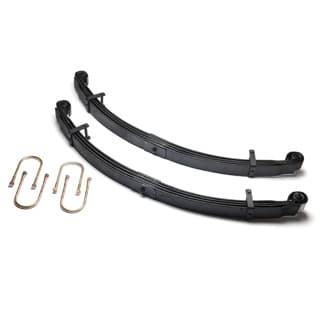 Parabolic Spring Set Rear Rear Pair  4 Leaf Springs