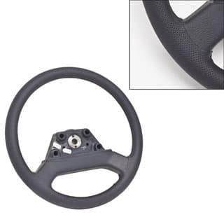 Steering Wheel Defender Black Leather 36 Spline