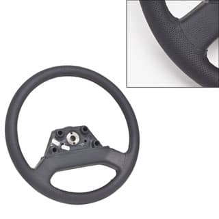 Steering Wheel Black Leather 36 Spline