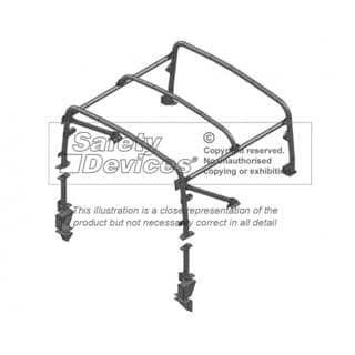 HEAVY DUTY HOOP SET DEFENDER 90 SOFT TOP