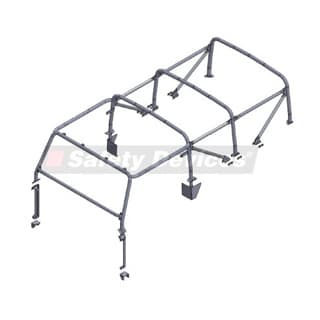 SAFETY DEVICES ROLL CAGE D110 SOFT TOP