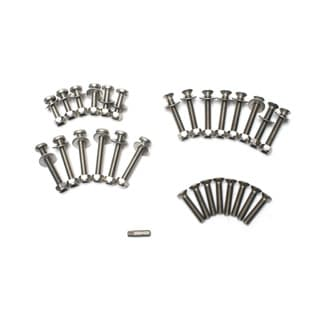 Stainless Steel Hinge Bolt Kit For 3 Door Ser.Iii &  Defender.