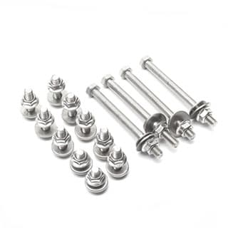 STAINLESS STEEL BOLT KIT FOR DEFENDER BULKHEAD TO CHASSIS BRACKETS