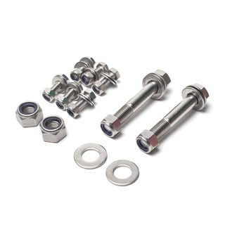 Stainless Rear Trailing Arm Hardware Kit
