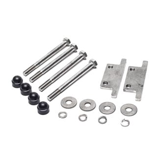 STAINLESS BUMPER MOUNTING HARDWARE KIT DEFENDER