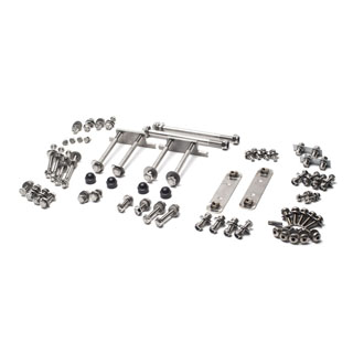 STAINLESS STEEL HARDWARE KIT BODY TO CHASSIS DEFENDER 90