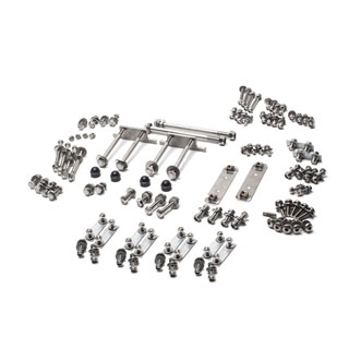 Stainless Body To Chassis Hardware Kit Defender 110 Sw