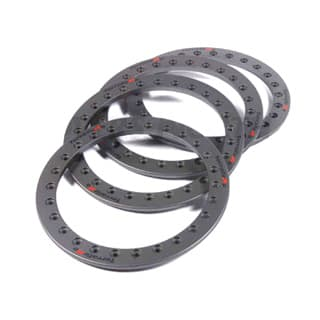 Bead Lock Ring Kit With Securing Bolts For Terrafirma Alloy Wheel. Set Of 4 in Anthracite