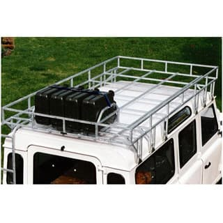 "H.D. B/C ROOF RACK w/JCM  109"" & 110 GALV w/LADDER"