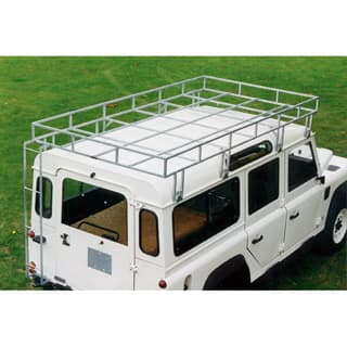 "H.D.BROWNCHURCH ROOF RACK 109"" & 110 GALV w/LADDER"