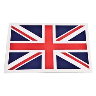 "Decal Union Jack 2.85"" X 4.375"""