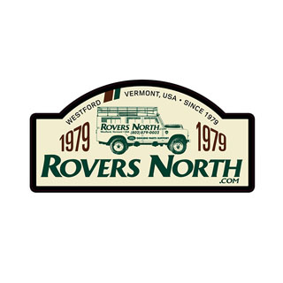 ROVERS NORTH 1979-2018 RALLYE PLATE STICKER