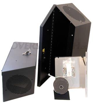 Tuffy Speaker/Storage Set Black