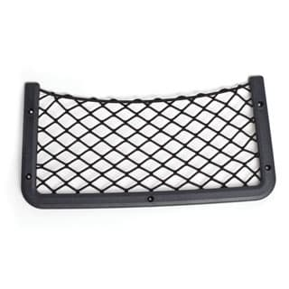 "Storage Net 14.5"" X 7.25""  With Black Plastic Frame *Missing Screw Covers"
